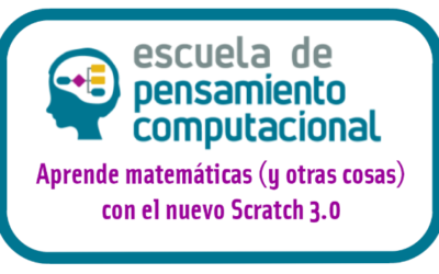 Aprende matemáticas y mucho más con Scratch 3.0