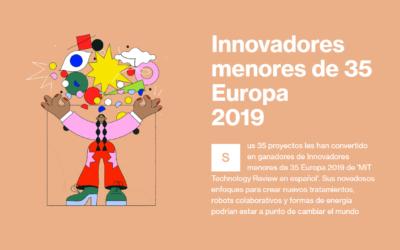 Idoia Ochoa entre las 35 jóvenes más innovadoras de Europa