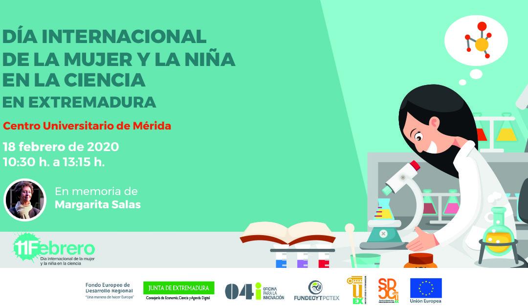 Día Internacional de la Mujer y la Niña en la Ciencia en Extremadura