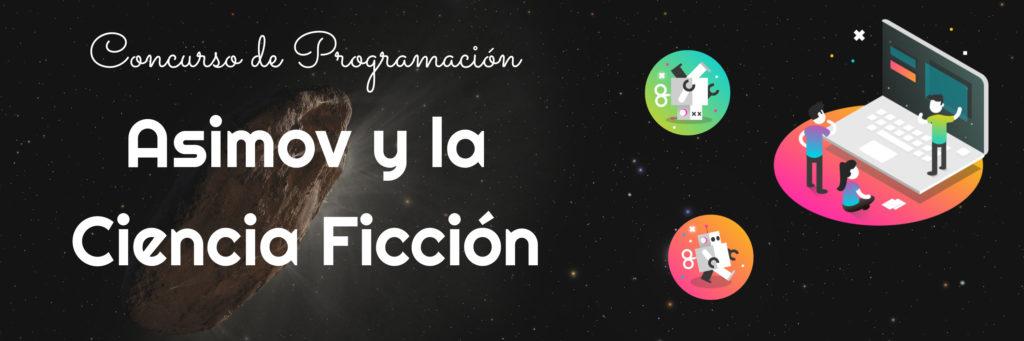Banner Concurso Asimov y la Ciencia Ficción