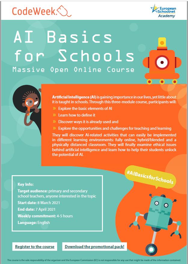 Información IA Basics for Schools