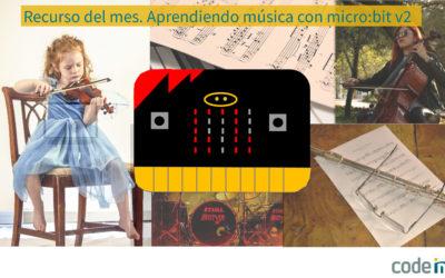 Aprendiendo música con micro:bit v2