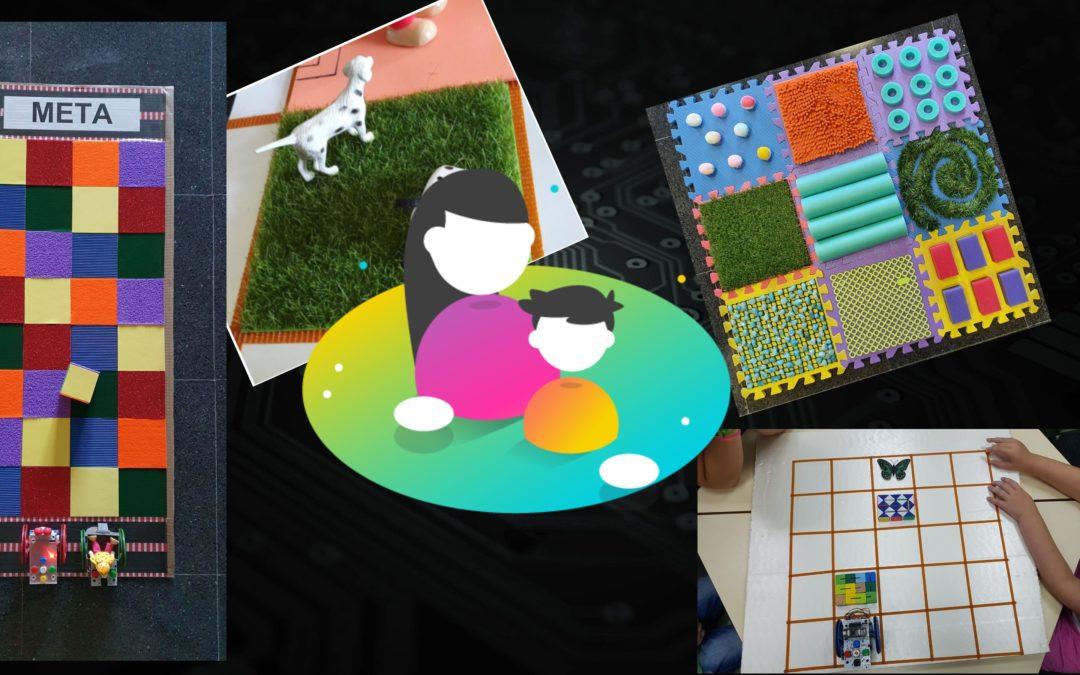 Adaptación de tableros para trabajar la robótica educativa con alumnado con discapacidad visual
