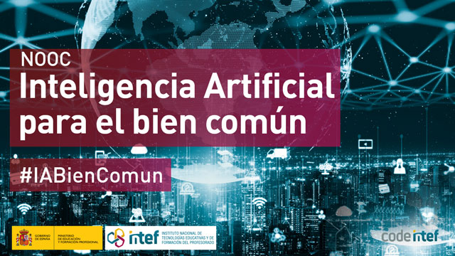 Abierta la inscripción para el NOOC Inteligencia Artificial para el bien común