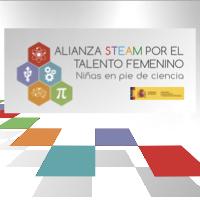 alianza steam niñas en pie de ciencia