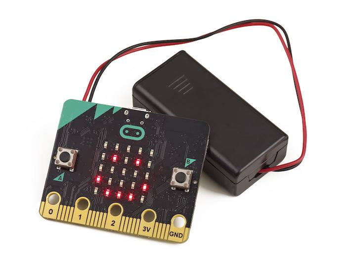 placa microbit con bateria