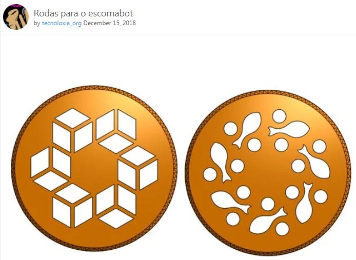 Ruedas para Escornabot by tecnoloxia_org