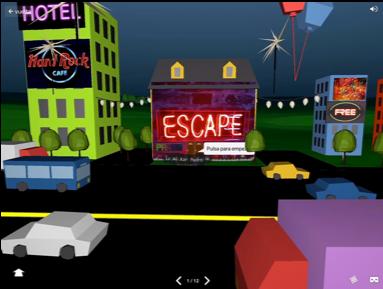 Escena de un Escape Room